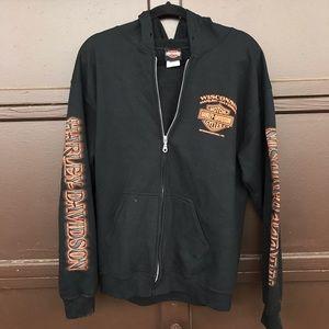 Harley Davidson Wisconsin Zip Hoodie